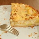 Apfel Pudding Kuchen