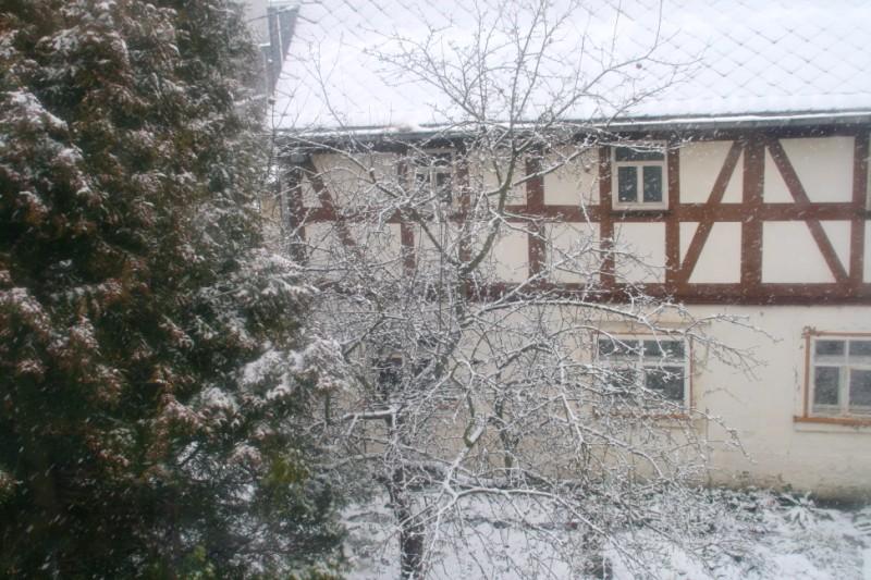 Es schneint...