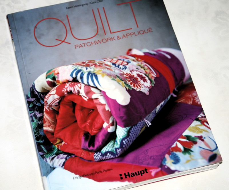 Ein schönes Buch für Quilt-Näher