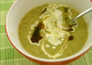 Kartoffel-Broccoli-Cremesuppe