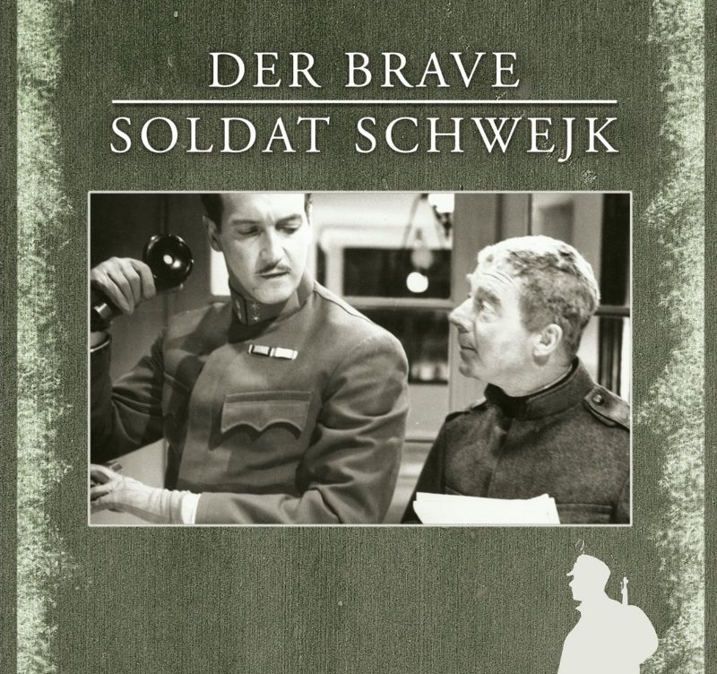 "Heinz Rühmann als ""braver Soldat Schwejk"""