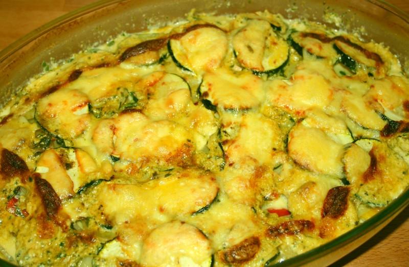 Kartoffel-Spinat-Fischauflauf