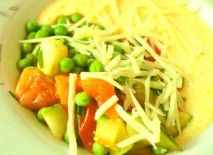 Polenta mit Gemüse